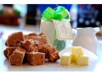 Classic caramel natural fudge