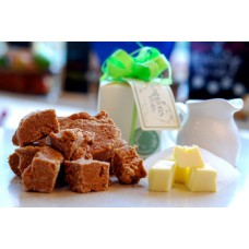 Classic caramel natural fudge